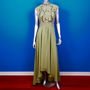 ASOS 1960's Embellished Mirror and Sequin Gown NWT